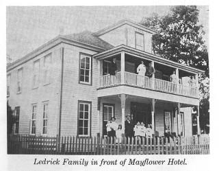 Ledrick-Family-in-front-of-Mayflower-Hotel