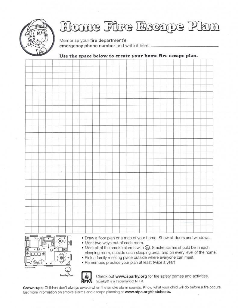 Home Fire Escape Plan Graph_2